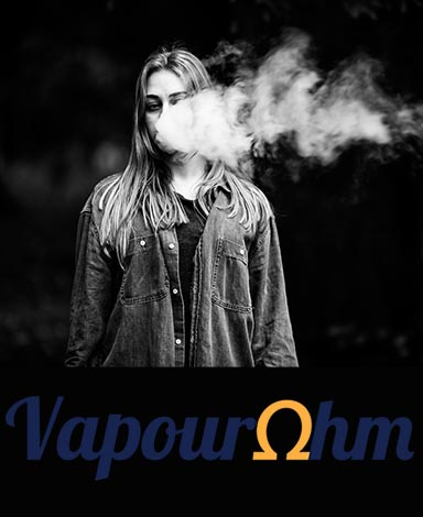 vaping e-liquid vapourohm